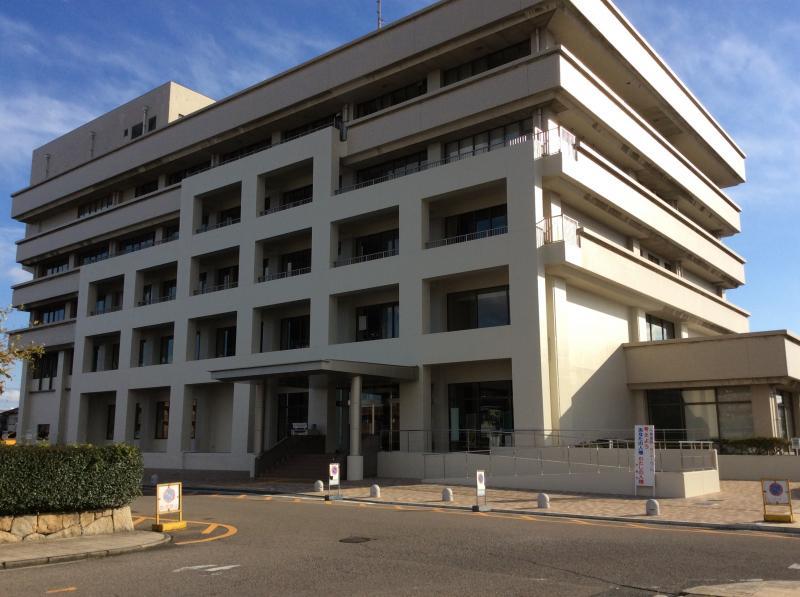 津島市役所耐震補強