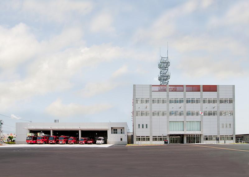 鈴鹿市消防庁舎